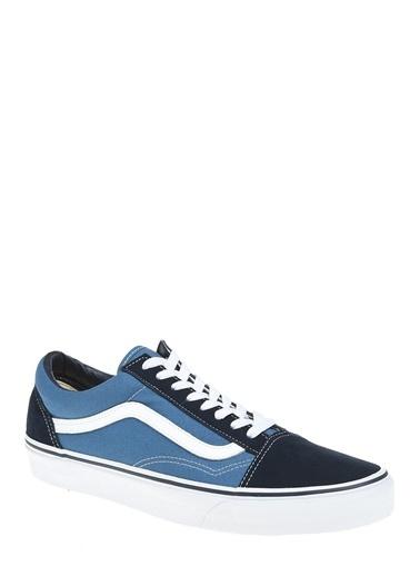 Vans 000D3Hnvy1-R Old Skool Unisex Spor Ayakkabı Mavi Lacivert